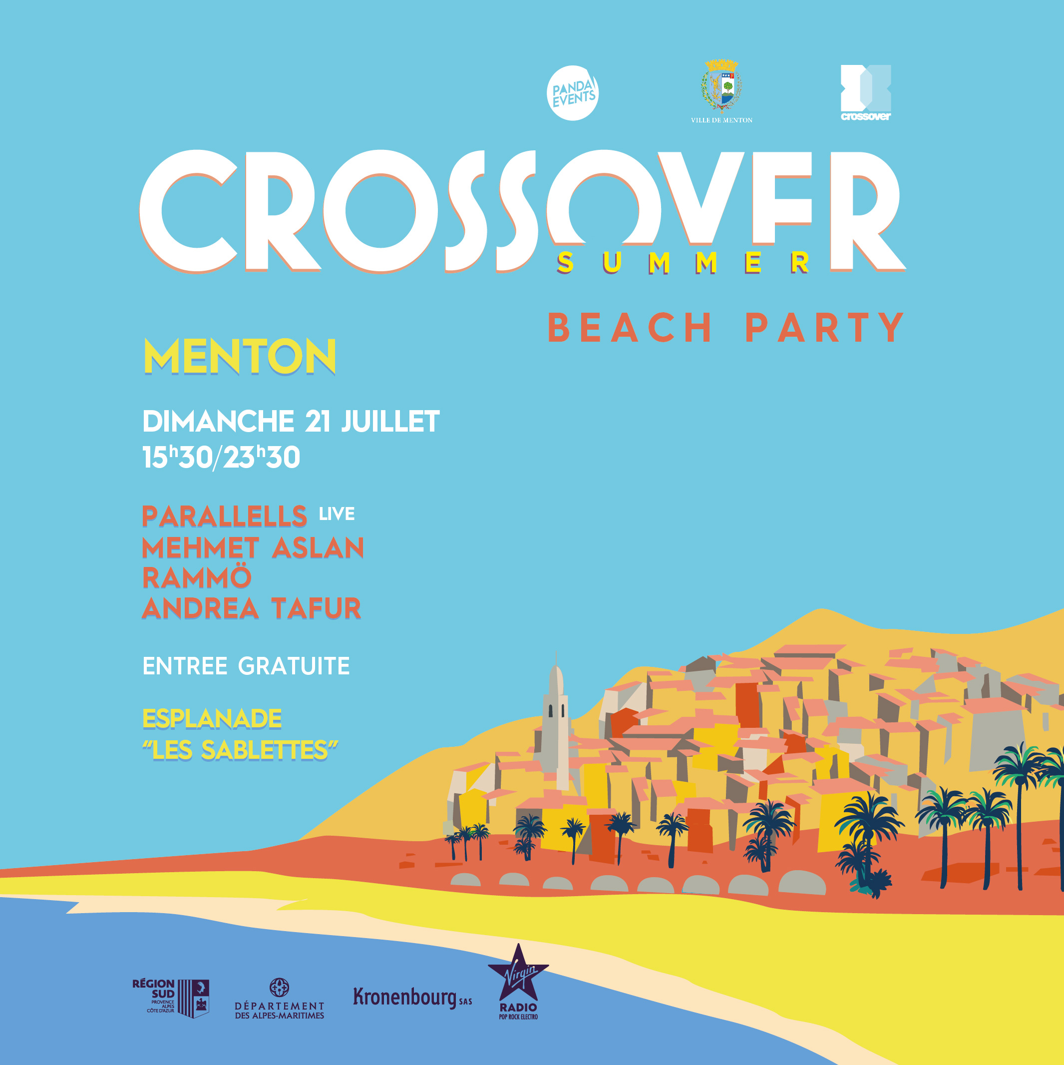Crossover Summer Beach Party