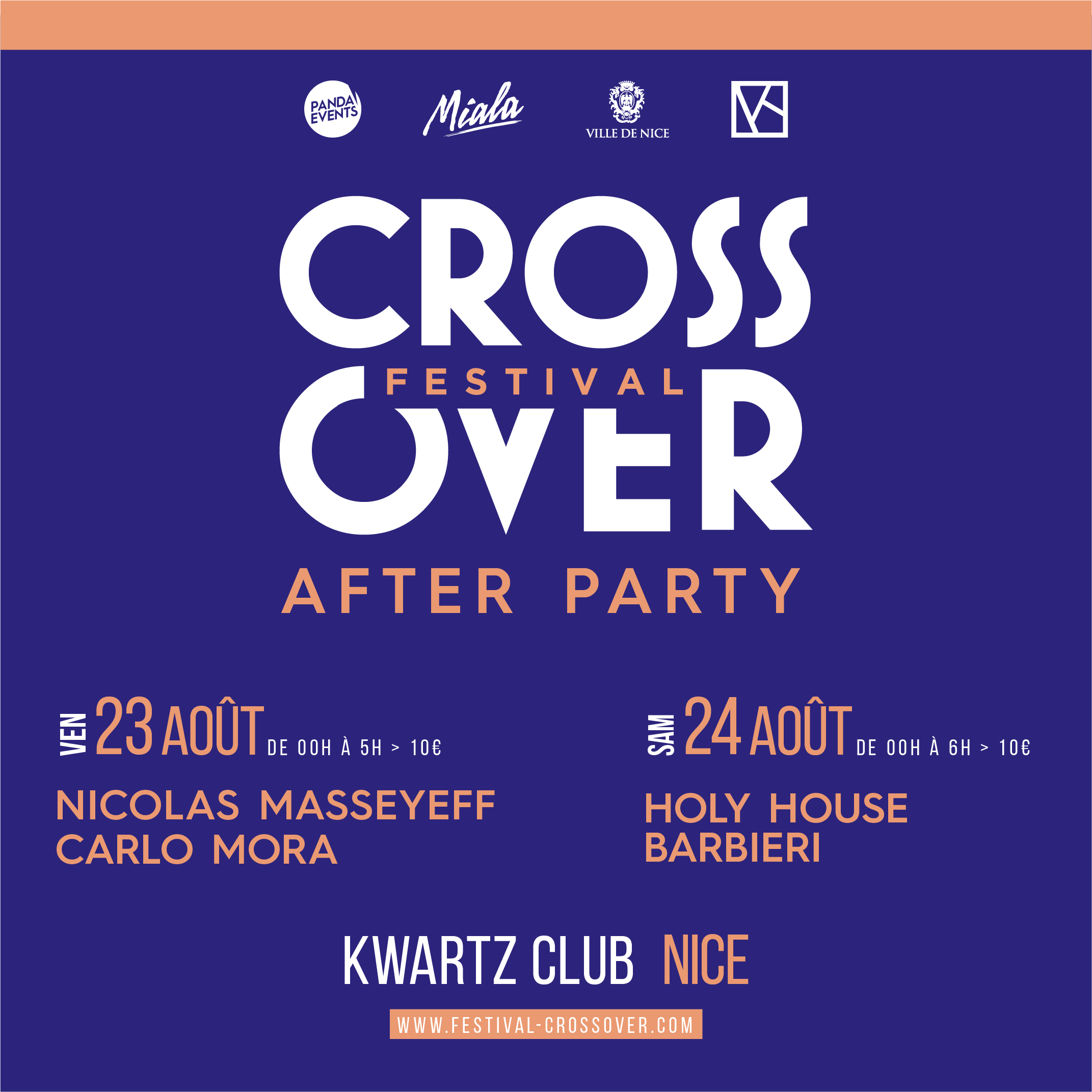 Crossover After party x Kwartz