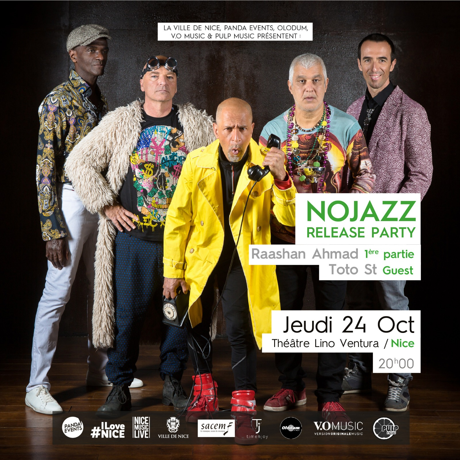 NOJAZZ + RAASHAN AMHAD / TOTO ST (Guest)
