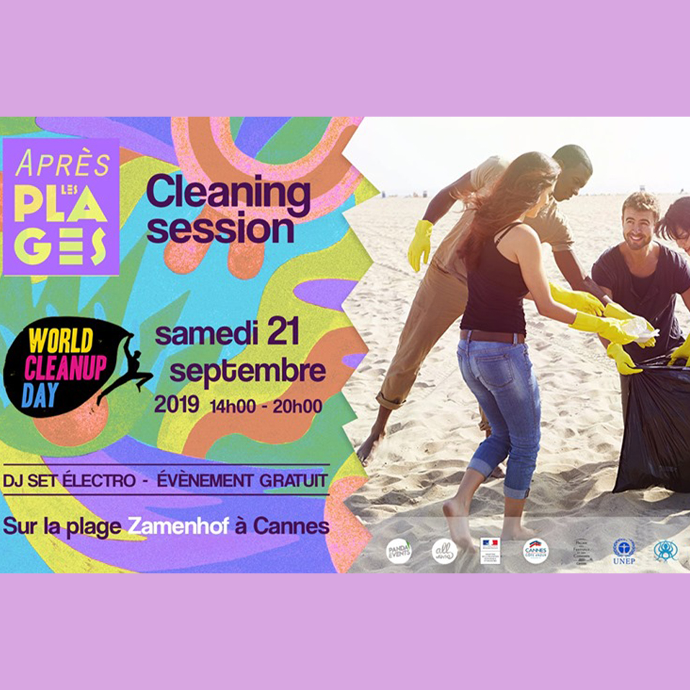 APRES LES PLAGES - CLEANING SESSION