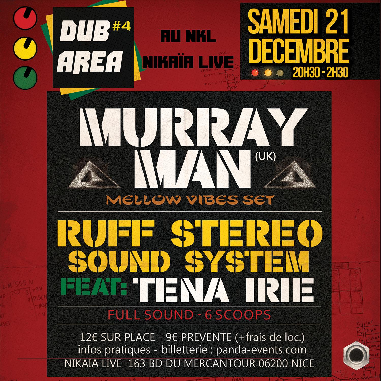 DUB AREA #4 Murray Man et Ruff Stéréo Sound System
