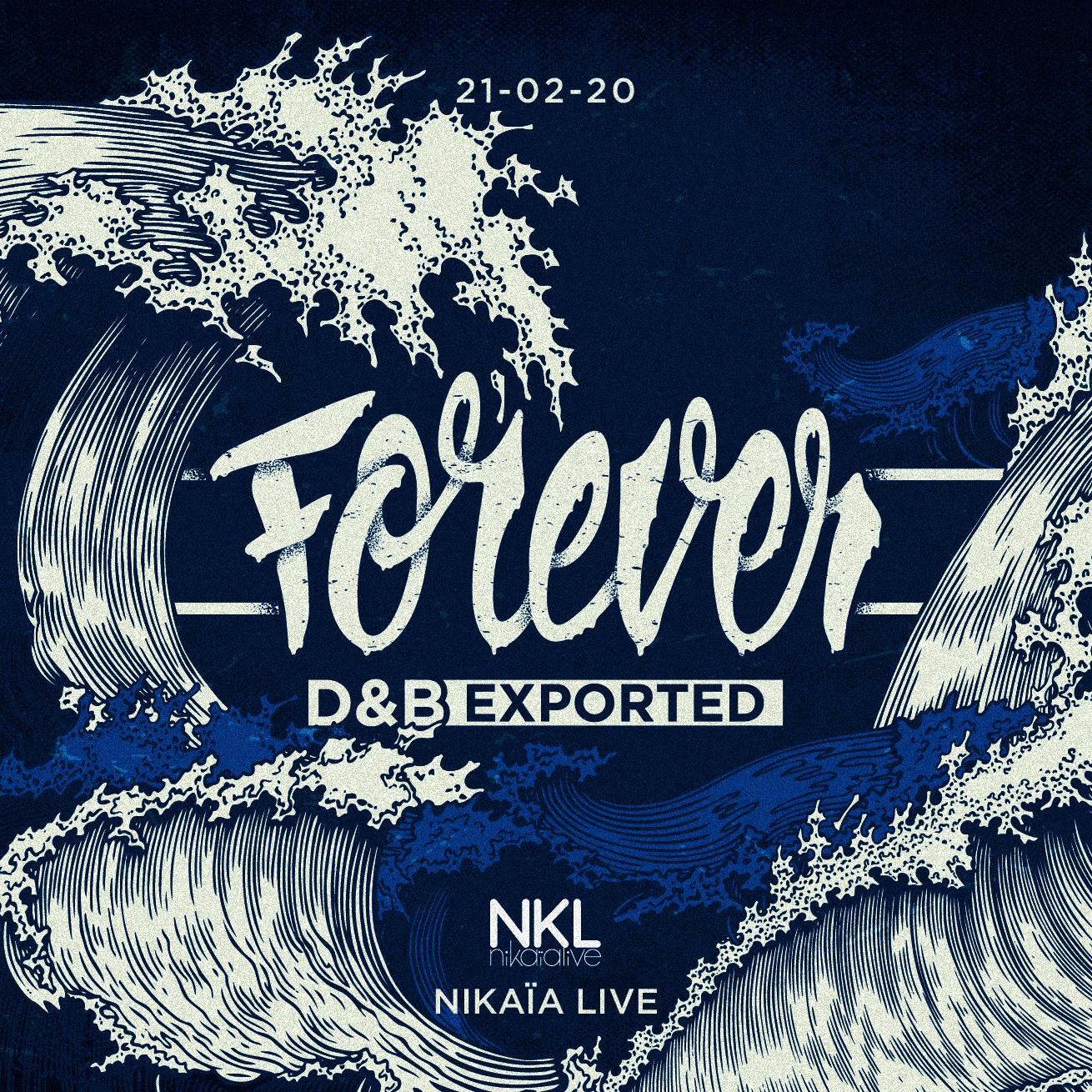 Forever DNB Exported : Elisa Do Brasil • Visages • Gunston